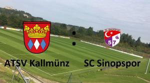 ATSV Kallmünz - SC Sinopspor @ Spielort wird noch bekanntgegeben