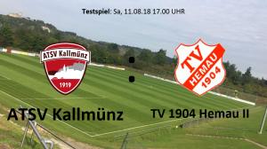 Testspiel: ATSV Kallmünz vs TV Hemau II @ Martin-Würdinger-Gedächtnisanlage