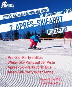 Apres-Ski-Fahrt nach Hintertux @ Hintertuxer Gletscher